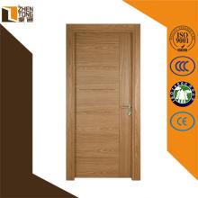 Portes de mdf en gros à bas prix foshan, conceptions de porte principale en bois de teck plat, pvc a stratifié la porte de mdf bon marché