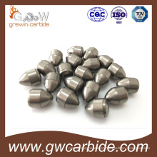 Bits de botão para roca / broca com matéria-prima de carboneto de tungstênio