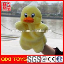 fantoche de mão do pato do alibaba da porcelana para o adulto