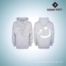 Hochwertiger bull hoodies / sweatshirt mit individuellem druck von herstellung