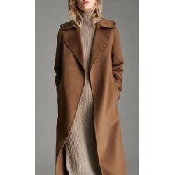 Women's Pure Cashmere Full Length Overcoat