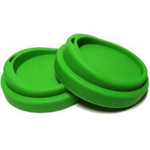 Tampa de caneca de café de silicone flexível e ecológica