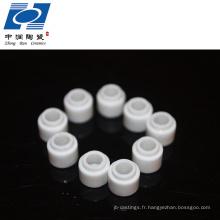 résistance à l'usure isolant perle en céramique de stéatite électrique