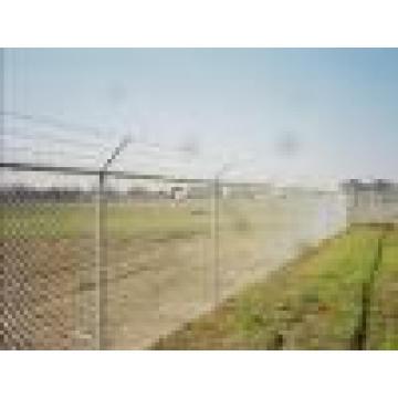 Cercado de granja de malla de alambre de púas