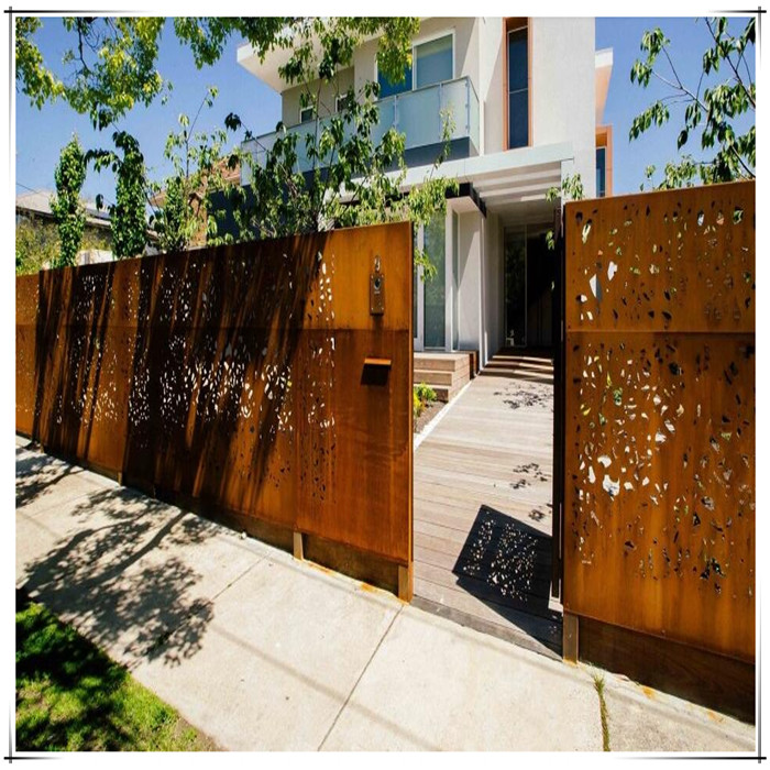 Laser Cut Gate And Fence