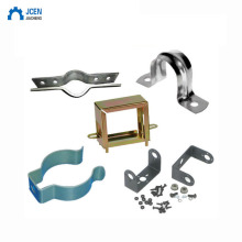 custom stamped clamp from factory metal parts for pipe steel clip