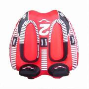Durable Inflatable Snow Ski/Tube/Sled with Handles, for Promotion Gifts and Advertising Premiums