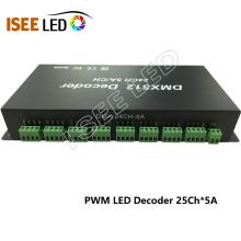 Controlador Dimmer Criativo de Lâmpada LED DMX RGB