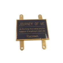 Dongguan Factory Custom Handbag Logo Metal Plate