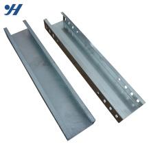Canais perfurados de enrolamento de frio da bandeja do entroncamento do cabo da construção de aço de dobra