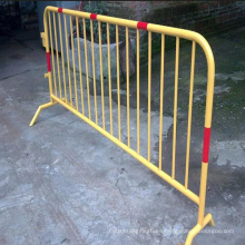 Barrera de control de muchedumbre de PVC para carretera