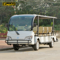 Chinese 14 seaters electric shuttle bus