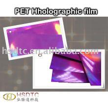 Película holográfica PET
