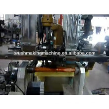 hair dye making drilling and tufting machine