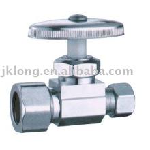 J7011 cromo banhado latão válvula de ângulo cw617n válvula de latão