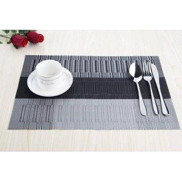 Hochwertiges umweltfreundliches Material PVC gewebte Küche Tischset