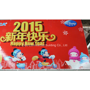 PVC Foam Board for Advertising (Good Weatherability/Fire Retardance)