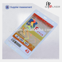 Holographic laminating pouch film for id card, like passport effect