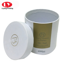 Chapeau de papier carton boîte ronde