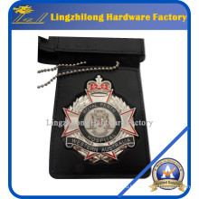 Материал металла и значок & эмблема кожаный бумажник значок