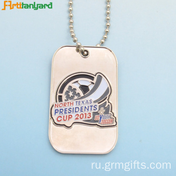 Dog Tag For Men With Customized Logo