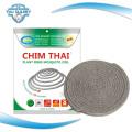 3600 Bolsas Por 40'hq Venta caliente Unbreakable China Mosquito Coil Repelente e inofensivo Guangzhou Plant Fibra Mosquito Incienso Bobina
