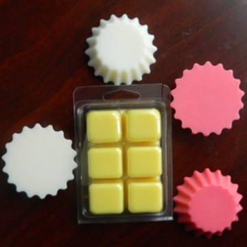 scented wax tarts in different figure