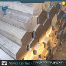 Barre hexagonale en acier inoxydable 410 à prix bon marché