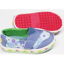 2016 zapatos de bebé de moda zapatos infantiles con suela suave (SNB-18-0002)