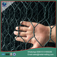 Geomantress gabions galvanized roca gabion pared
