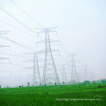 220 Kv Doubule Circuit Tangent Power Transmission Tower