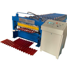 Color steel roofing machine