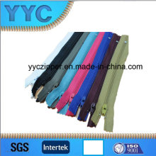 Corlorful C/E Nylon Zippers for Clothes