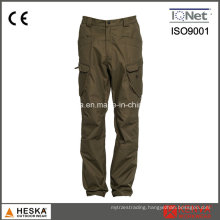 New Products Garment Dye Wash Outdoor Men Khaki Trousers