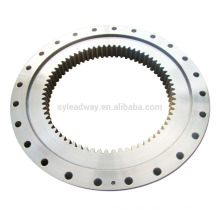 excavator slewing ring bearing with inner gear