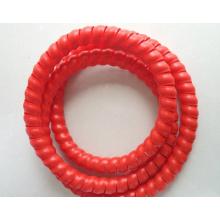 Protecteur de tuyau résistant à l'huile de PP adapté aux besoins du client d'usine pour le tuyau de Rubbr