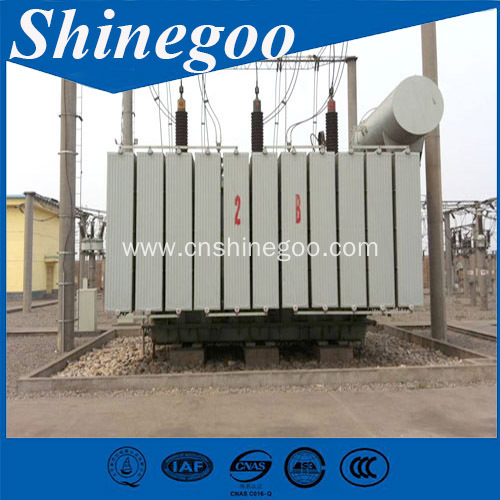 Power transformer special traction transformer