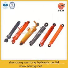 Maquinaria de construcción cilindro hidráulico