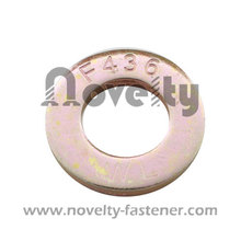 Steel Flat Washer With Zinc