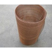 Malla de alambre prensado de cobre