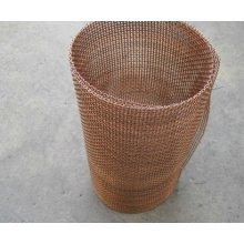 Copper Crimped Wire Mesh