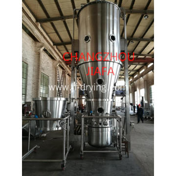 Fluid bed bottom spray wurster coating machine