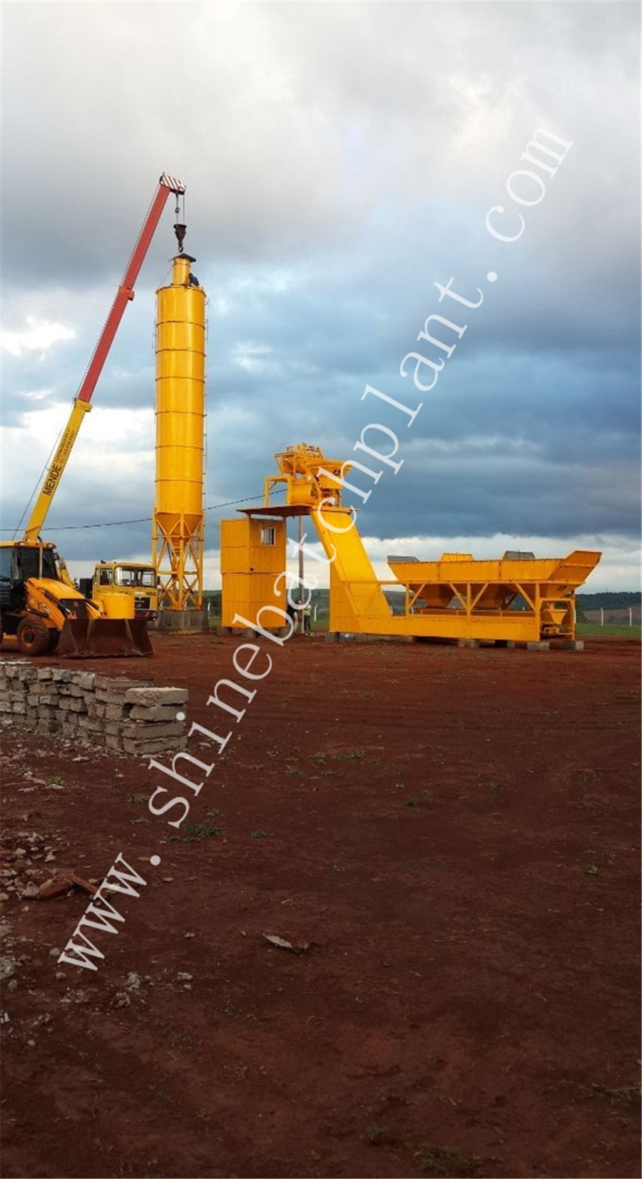 25 Winter Concrete Batching Plant Without Mixer 02