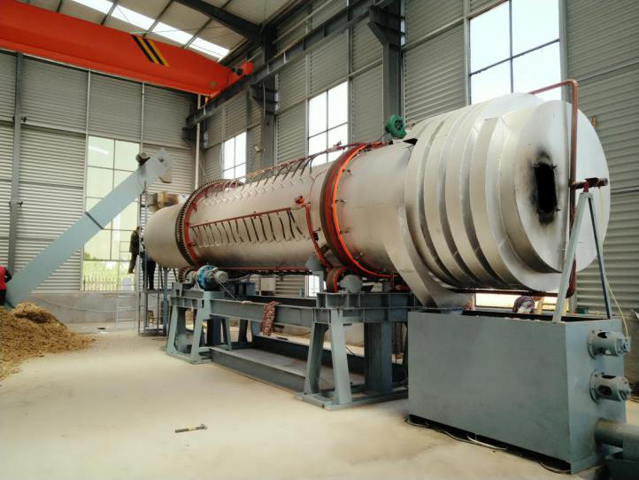 Rotary carbonization furnace1