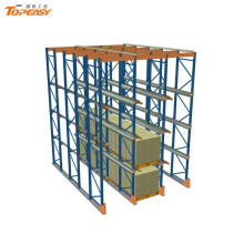 heavy duty warehouse drive through rack