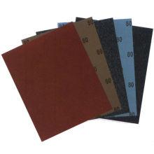 papel abrasivo de diamante de carburo de silicio