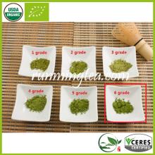 Высший сорт CERES Органический сертифицированный зеленый чай Matcha