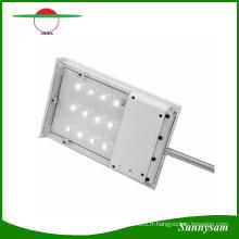 2016 6 V 1.8 W ABS 12 LED Ultra-Mince Extérieure Solaire Puissance Extérieure Lumière Jardin Lampe Étanche Solaire Capteur Wall Street Light