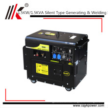 Portable Diesel Welding Machine Generator For Sale Philippines 1.5KW Generator Welding Machine