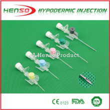 Henso IV Catheter with Injection Port & Wings